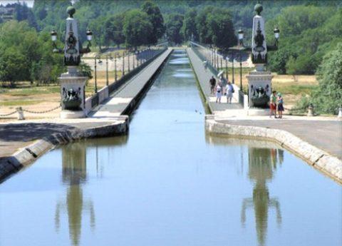 Croisière déjeuner canal de Briare