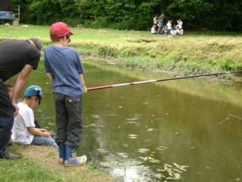 Initiation Pêche enfant