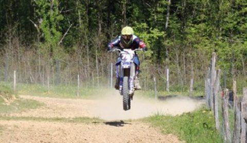 Découverte du moto-cross enfants