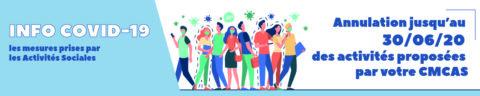 Mesures des Activités Sociales liées à l'épidémie Covid-19